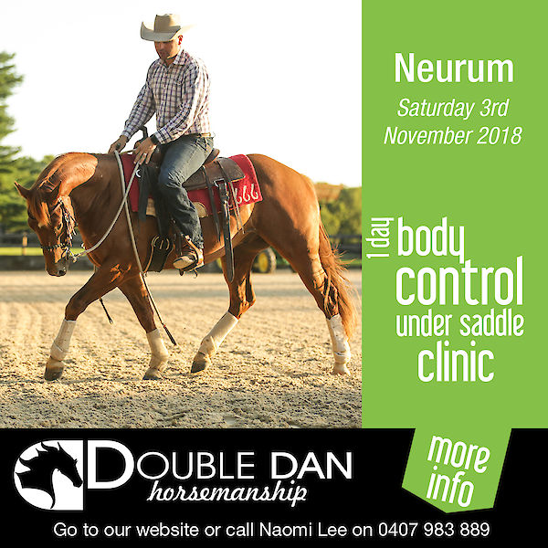 1 Day Body Control Under Saddle